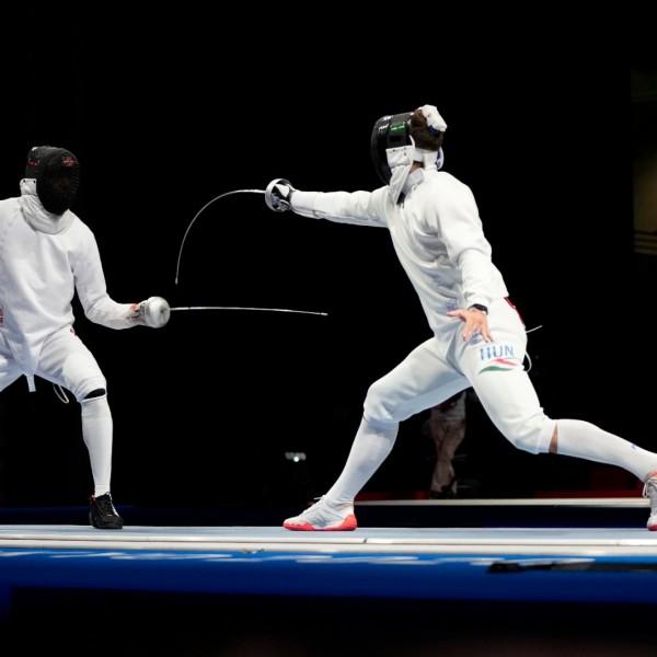 Siklósi Gergely olimpiai döntős párbajtőrben