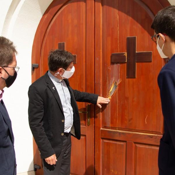 Gödöllői templomrongálás: a teljes felújítást fedezik az összegyűlt adományok